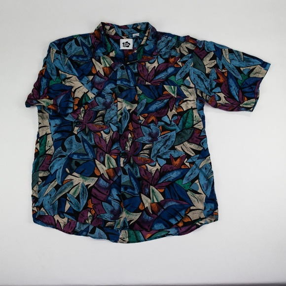 Hilo Hattie Other - Hilo Hattie Silk Hawaiian Shirt